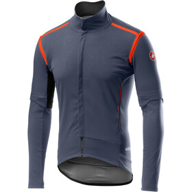 Castelli Perfetto Rain Or Shine Veste convertible Homme, dark/steel blue